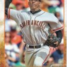 Joaquin Arias 2015 Topps #299 San Francisco Giants Baseball Card