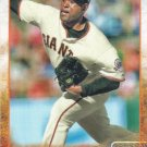Santiago Casilla 2015 Topps #156 San Francisco Giants Baseball Card