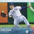 Shin-Soo Choo 2015 Topps #320 Texas Rangers Baseball Card
