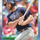 Evan Gattis 2015 Topps #58 Atlanta Braves Baseball Card