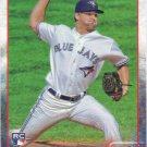 Kendall Graveman 2015 Topps Rookie #14 Toronto Blue Jays Baseball Card