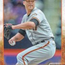 Tim Hudson 2015 Topps #86 San Francisco Giants Baseball Card