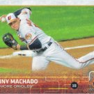 Manny Machado 2015 Topps #136 Baltimore Orioles Baseball Card