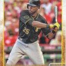 Gregory Polanco 2015 Topps #253 Pittsburgh Pirates Baseball Card