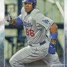 Yasiel Puig 2015 Topps #350 Los Angeles Dodgers Baseball Card