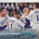 Kansas City Royals 2015 Topps #258 Baseball Team Card