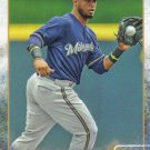 Jean Segura 2015 Topps #230 Milwaukee Brewers Baseball Card