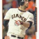 Brandon Belt 2014 Topps #284 San Francisco Giants Baseball Card