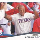 Adrian Beltre 2014 Topps #161 Texas Rangers Baseball Card