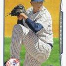Dellin Betances 2014 Topps Update #US-69 New York Yankees Baseball Card