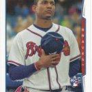 Christian Bethancourt 2014 Topps Rookie #447 Atlanta Braves Baseball Card