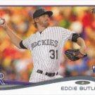 Eddie Butler 2014 Topps Update Rookie #US-262 Colorado Rockies Baseball Card