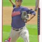 Carlos Carrasco 2014 Topps #501 Cleveland Indians Baseball Card