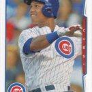 Starlin Castro 2014 Topps #603 Chicago Cubs Baseball Card