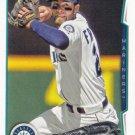 Nick Franklin 2014 Topps #169 Seattle Mariners Baseball Card