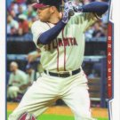 Freddie Freeman 2014 Topps #579 Atlanta Braves Baseball Card