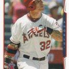 Josh Hamilton 2014 Topps #575 Los Angeles Angels Baseball Card