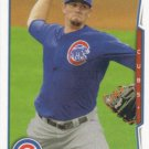 Jason Hammel 2014 Topps #601 Chicago Cubs Baseball Card