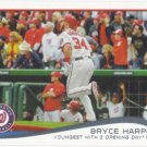 Bryce Harper 2014 Topps #390 Washington Nationals Baseball Card