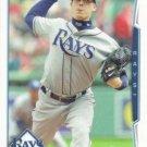 Jeremy Hellickson 2014 Topps #202 Tampa Bay Rays Baseball Card