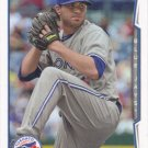 Drew Hutchison 2014 Topps #486 Toronto Blue Jays Baseball Card