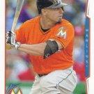 Reed Johnson 2014 Topps Update #US-205 Miami Marlins Baseball Card