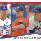 Clayton Kershaw-Jose Fernandez-Matt Harvey 2014 Topps #113 Baseball Card