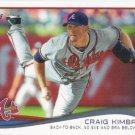 Craig Kimbrel 2014 Topps #499 Atlanta Braves Baseball Card