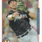 Ed Lucas 2014 Topps #387 Miami Marlins Baseball Card