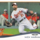 Nick Markakis 2014 Topps #61 Baltimore Orioles Baseball Card