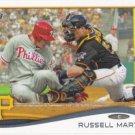 Russell Martin 2014 Topps #360 Pittsburgh Pirates Baseball Card