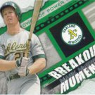 Mark McGwire 2014 Topps 'Breakout Moment' #BM-3 Oakland Athletics Baseball Card