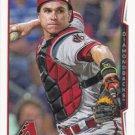 Miguel Montero 2014 Topps #287 Arizona Diamondbacks Baseball Card