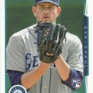 James Paxton 2014 Topps Rookie #123 Seattle Mariners Baseball Card
