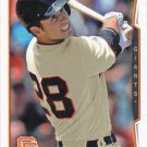 Buster Posey 2014 Topps #50 San Francisco Giants Baseball Card