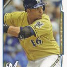 Aramis Ramirez 2014 Topps #560 Milwaukee Brewers Baseball Card