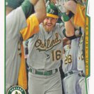 Josh Reddick 2014 Topps #416 Oakland Athletics Baseball Card