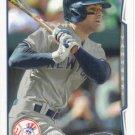 Brian Roberts 2014 Topps #396 New York Yankees Baseball Card