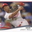 Jimmy Rollins 2014 Topps #312 Philadelphia Phillies Baseball Card