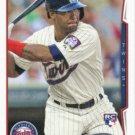 Danny Santana 2014 Topps Update Rookie #US-184 Minnesota Twins Baseball Card
