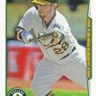 Eric Sogard 2014 Topps #135 Oakland Athletics Baseball Card