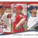 Adam Wainwright-Jordan Zimmermann-Clayton Kershaw 2014 Topps #294 Baseball Card