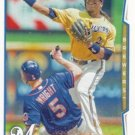 Rickie Weeks 2014 Topps #172 Milwaukee Brewers Baseball Card