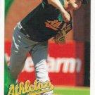 Andrew Bailey 2010 Topps #186 Oakland Athletics Baseball Card