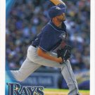 David Price 2010 Topps #225 Tampa Bay Rays Baseball Card