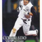 Ryan Spilborghs 2010 Topps #179 Colorado Rockies Baseball Card