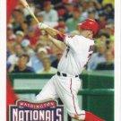 Josh Bard 2010 Topps #63 Washington Nationals Baseball Card