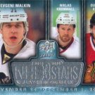 Evgeni Malkin-Niklas Kronwall-Duncan Keith 2014-15 Upper Deck MVP '3 Stars' Hockey Card