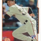 Ehire Adrianza 2014 Topps Update Rookie #US-105 San Francisco Giants Baseball Card
