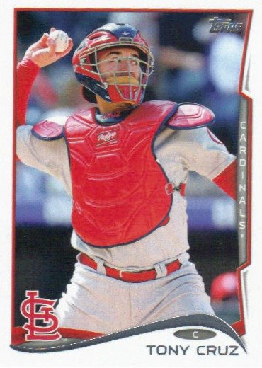 Tony Cruz 2014 Topps Update #US-134 St. Louis Cardinals Baseball Card